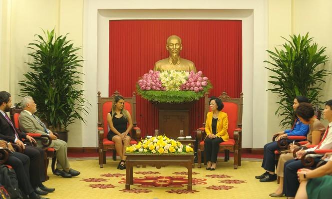 Tăng cường mối quan hệ tổ chức Đoàn thanh niên hai nước Việt Nam - Venezuela - ảnh 1