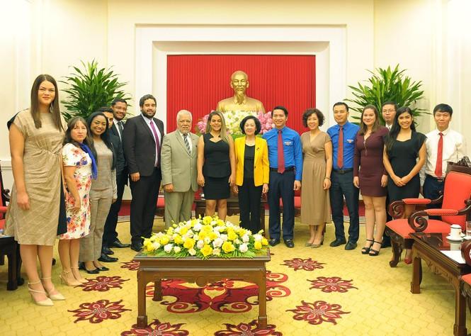 Tăng cường mối quan hệ tổ chức Đoàn thanh niên hai nước Việt Nam - Venezuela - ảnh 3