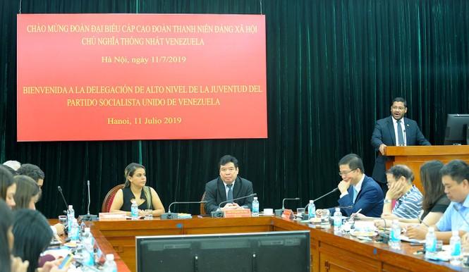 Tăng cường mối quan hệ tổ chức Đoàn thanh niên hai nước Việt Nam - Venezuela - ảnh 4