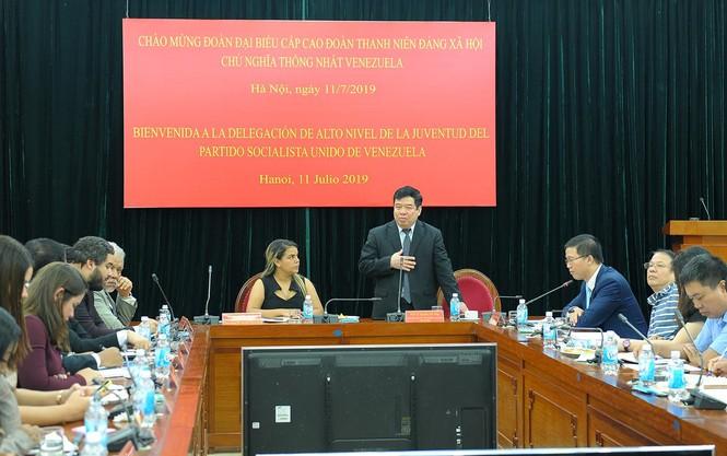 Tăng cường mối quan hệ tổ chức Đoàn thanh niên hai nước Việt Nam - Venezuela - ảnh 5
