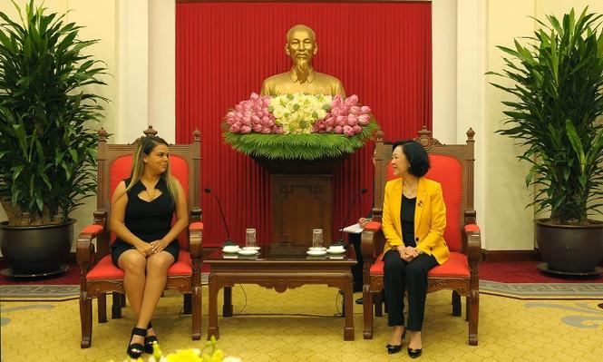 Tăng cường mối quan hệ tổ chức Đoàn thanh niên hai nước Việt Nam - Venezuela - ảnh 2