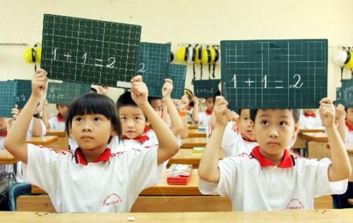 Bộ GD – ĐT: Học sinh tiểu học được học vượt lớp - ảnh 1