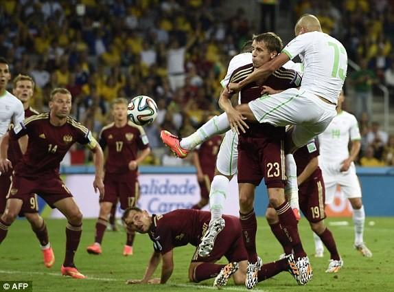 Nga-Algeria (1-1): 'Cáo sa mạc' lập kỳ tích vĩ đại - ảnh 2