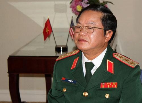 Đoàn đại biểu Quân sự cấp cao Việt Nam thăm, làm việc tại Campuchia - ảnh 1
