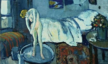 Người đàn ông bí ẩn trong bức tranh phụ nữ đang tắm của Picasso - ảnh 1