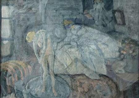 Người đàn ông bí ẩn trong bức tranh phụ nữ đang tắm của Picasso - ảnh 2