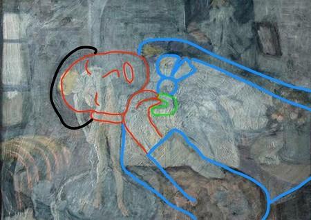 Người đàn ông bí ẩn trong bức tranh phụ nữ đang tắm của Picasso - ảnh 4