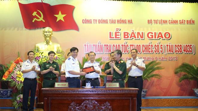 Cảnh sát biển Việt Nam có thêm tàu tuần tra cao tốc - ảnh 1