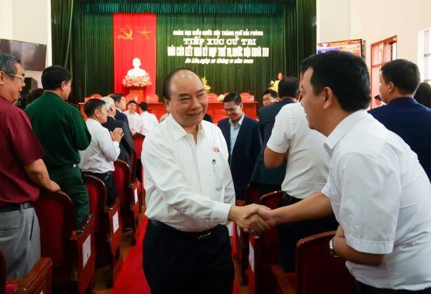 Hình ảnh Thủ tướng Nguyễn Xuân Phúc tiếp xúc cử tri TP. Hải Phòng - ảnh 2