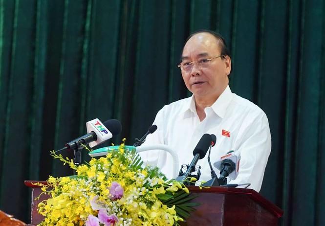 Hình ảnh Thủ tướng Nguyễn Xuân Phúc tiếp xúc cử tri TP. Hải Phòng - ảnh 6