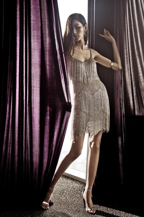 Hoàng Thùy kiêu sa với các thiết kế mới của Kate Moss - ảnh 3
