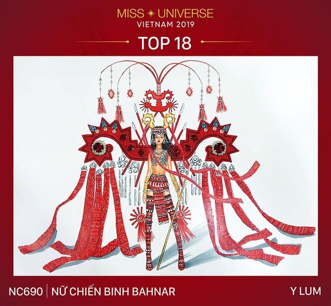 Thiết kế 'Bàn thờ' chính thức lọt top 18 trang phục dân tộc cho Hoàng Thuỳ - ảnh 5