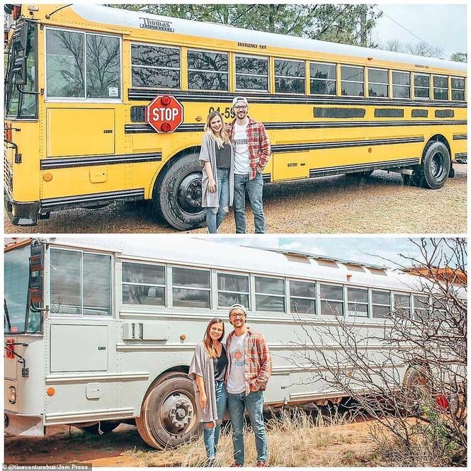 Cặp đôi biến xe thành nhà để đi du lịch thế giới - ảnh 2