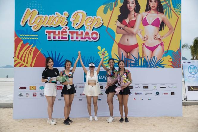 Á hậu Phương Nga đẹp đôi bên Bình An khiến thí sinh Miss World VN ngưỡng mộ - ảnh 14