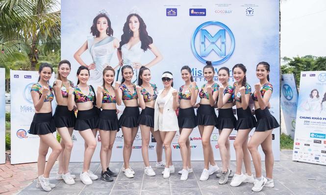 Á hậu Phương Nga đẹp đôi bên Bình An khiến thí sinh Miss World VN ngưỡng mộ - ảnh 12