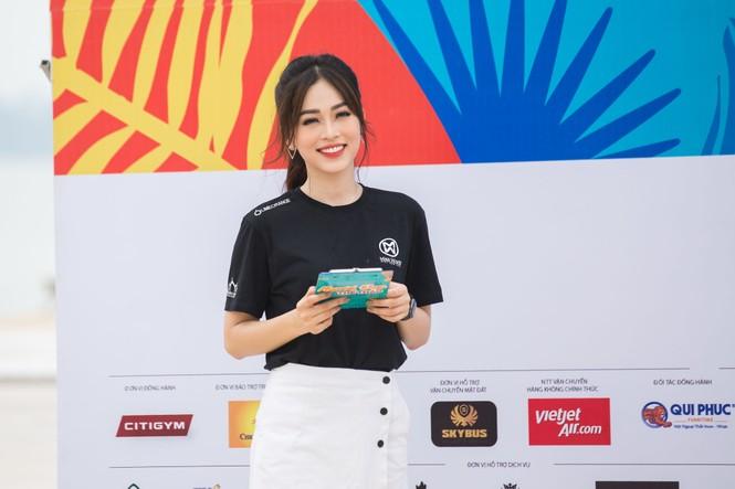 Á hậu Phương Nga đẹp đôi bên Bình An khiến thí sinh Miss World VN ngưỡng mộ - ảnh 2