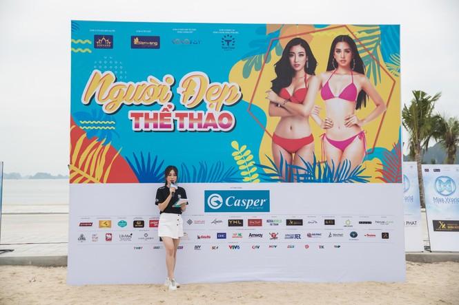 Á hậu Phương Nga đẹp đôi bên Bình An khiến thí sinh Miss World VN ngưỡng mộ - ảnh 1