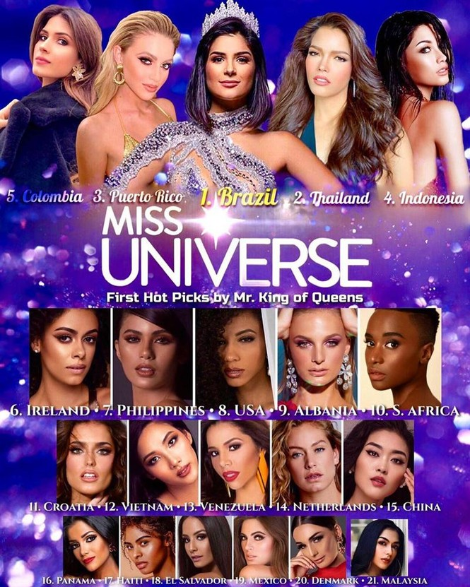 Hoàng Thuỳ liên tục 'oanh tạc' các bảng xếp hạng trước thềm Miss Universe 2019 - ảnh 2