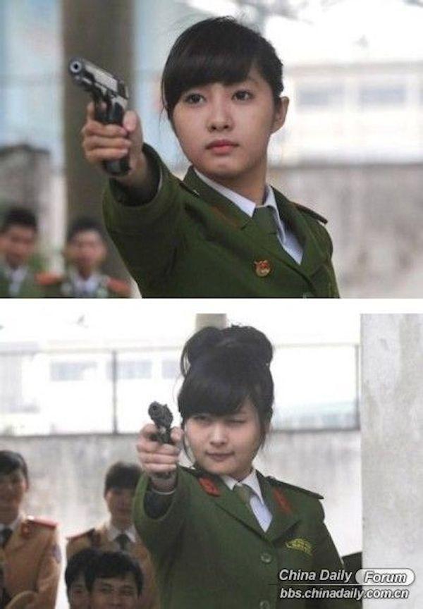 Nữ cảnh sát Việt xinh đẹp lên báo nước ngoài - ảnh 5