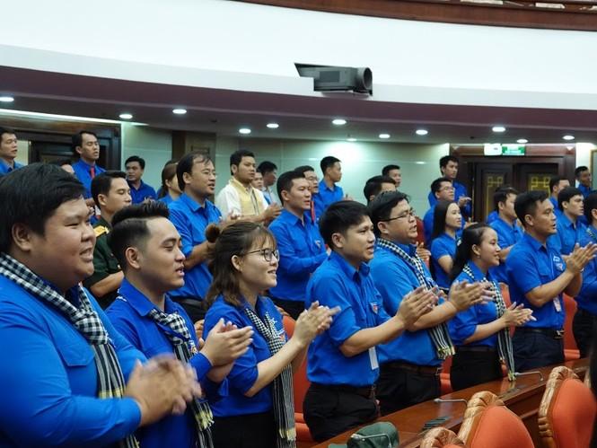 Tổng Bí thư, Chủ tịch nước gặp mặt đảng viên trẻ tiêu biểu toàn quốc - ảnh 12