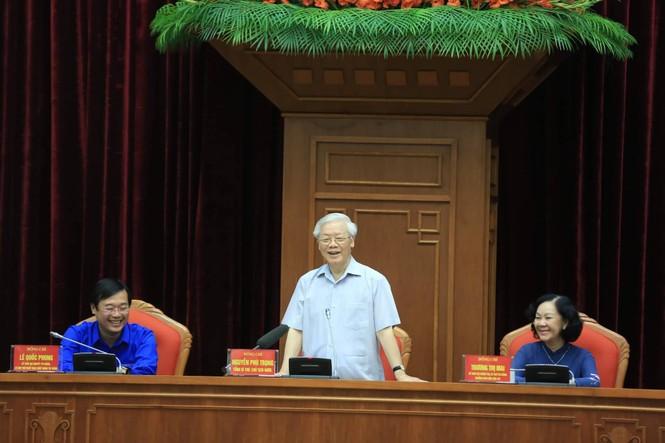 Tổng Bí thư, Chủ tịch nước gặp mặt đảng viên trẻ tiêu biểu toàn quốc - ảnh 2