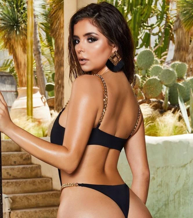Ba vòng 'bỏng rẫy' của 'Kim Kardashian nước Anh' khiến quý ông phải thổn thức - ảnh 4