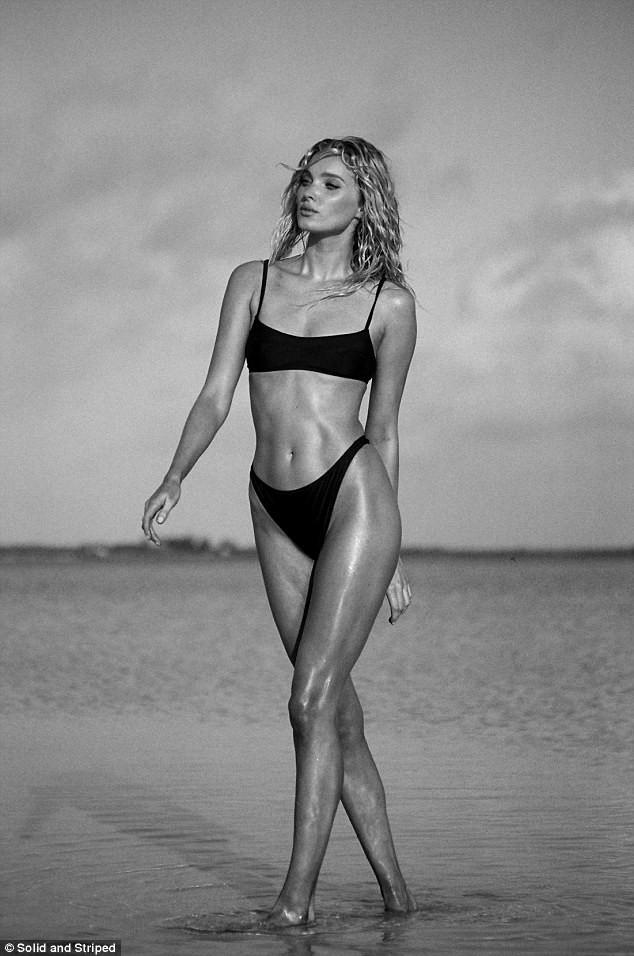 'Búp bê' Elsa Hosk khoe body tuyệt mỹ với áo tắm - ảnh 10
