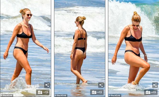 Bạn gái 'Người vận chuyển' mặc bikini bé xíu tôn đường cong tuyệt mỹ - ảnh 3