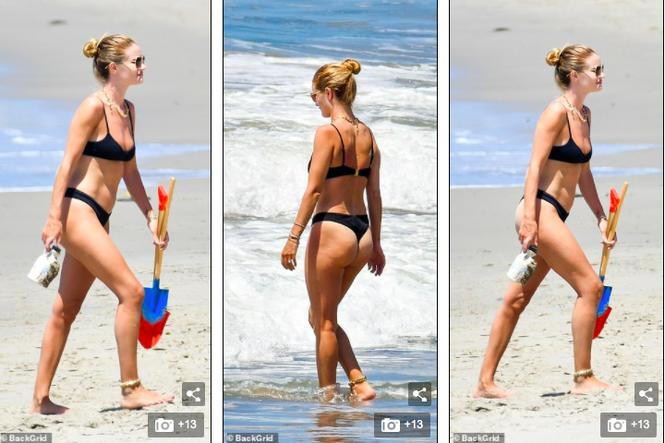 Bạn gái 'Người vận chuyển' mặc bikini bé xíu tôn đường cong tuyệt mỹ - ảnh 5