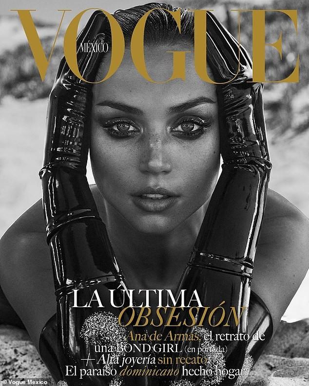 'Bond Girl' người Cuba đẹp hút hồn trên Vogue Mexico - ảnh 1