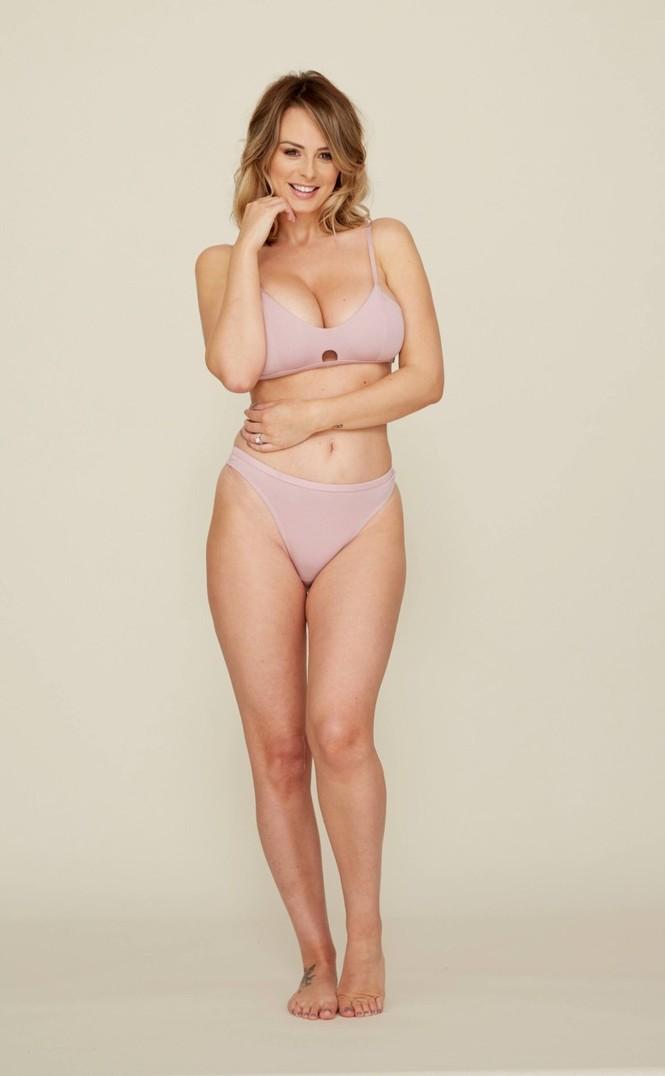 Mỹ nhân được mệnh danh 'quả đào tiên hoàn hảo' mặc nội y nóng bỏng - ảnh 1