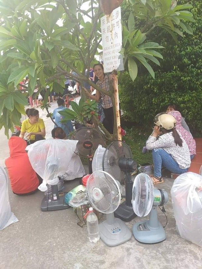 """Vụ chủ Cty Đài Loan """"biến mất"""", vừa đi làm vài hôm công nhân lại bị bỏ rơi - ảnh 1"""