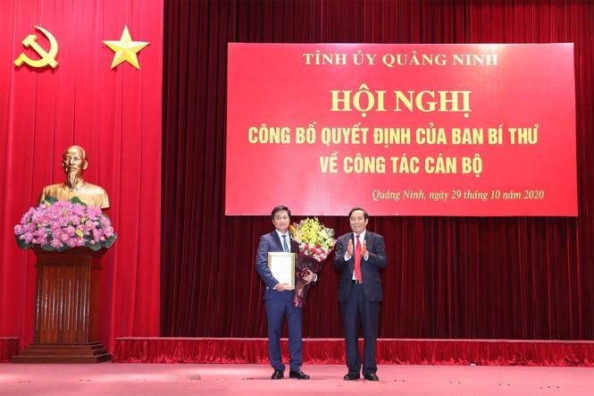 Thứ Trưởng Bộ Xây dựng làm Phó Bí thư Tỉnh ủy Quảng Ninh - ảnh 1