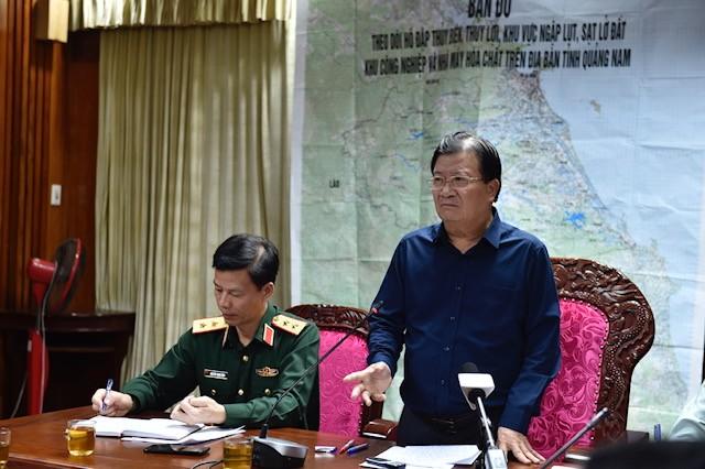 53 người mất tích do sạt lở núi ở Quảng Nam, quân đội vào hiện trường - ảnh 3