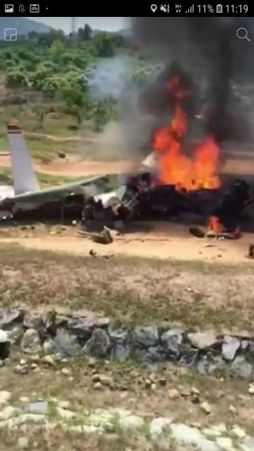 Máy bay quân sự rơi ở Khánh Hoà, hai phi công tử nạn - ảnh 2