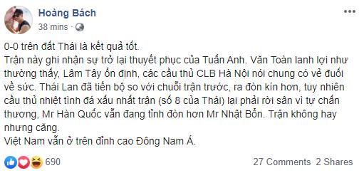 Sao việt đặt biệt danh mới cho HLV Park Hang Seo sau trận hòa tuyển Thái  - ảnh 3
