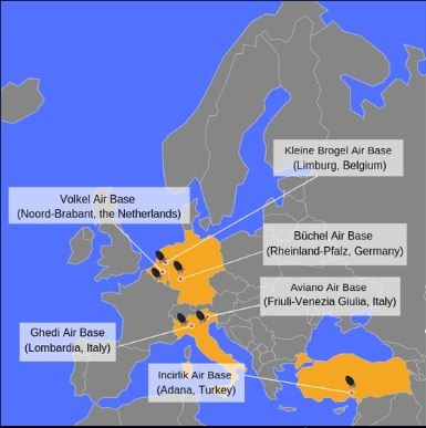 Rò rỉ thông tin về vũ khí hạt nhân của Mỹ ở châu Âu - ảnh 1