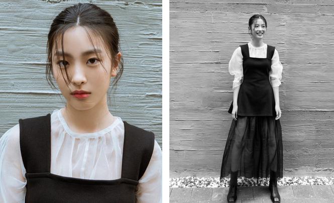 Nhan sắc cô gái 17 tuổi đầu tiên đầu quân cho công ty Bi Rain  - ảnh 2