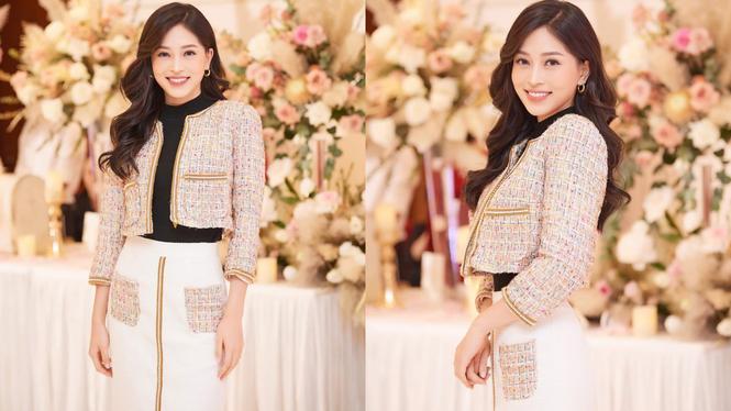 Hoa hậu Giáng My lăng xê mốt áo chần bông sặc sỡ, Hồng Diễm 'đổi gió' với style cá tính - ảnh 2