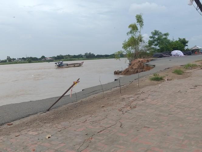 Đề xuất hàng trăm tỷ giải cứu quốc lộ ở An Giang đang bị sông 'nuốt chửng'  - ảnh 2