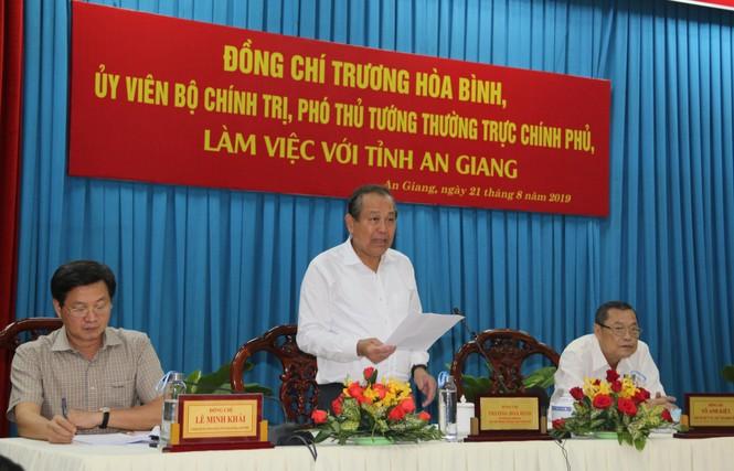 Đề xuất hàng trăm tỷ giải cứu quốc lộ ở An Giang đang bị sông 'nuốt chửng'  - ảnh 3