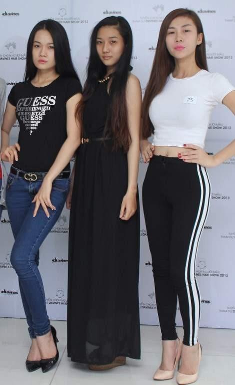 Một số người mẫu tham gia
