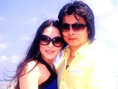 Ngọc Anh và Hoàng Kim Long lúc mới quen nhau Ảnh: TƯ LIỆU