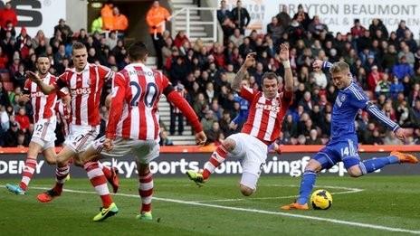 Stoke - Chelsea (3-2): The Blues ngã ngựa tại Britannia - ảnh 1