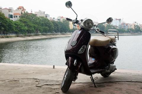 Lộ hình ảnh Vespa LXV lắp ráp tại Việt Nam - ảnh 3