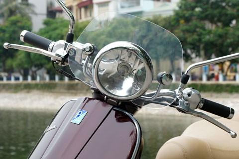 Lộ hình ảnh Vespa LXV lắp ráp tại Việt Nam - ảnh 5