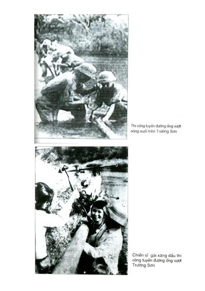 Chiến sĩ gái xăng dầu thi công tuyến đường ống vượt Trường Sơn