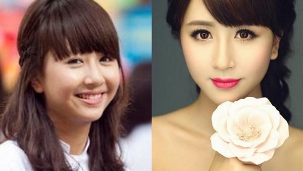 Quỳnh Anh Shyn từng dính nghi án phẫu thuật cằm tuy nhiên, cô bạn vẫn là hotgirl có mặt mộc xinh đẹp