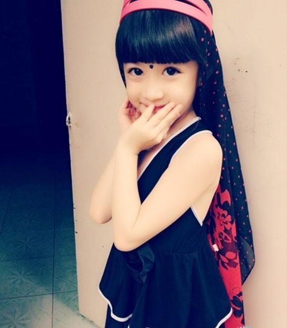 Cô bé học lớp 1 xinh như tiểu công chúa - ảnh 9