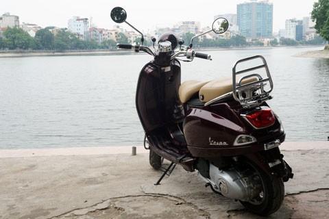 Lộ hình ảnh Vespa LXV lắp ráp tại Việt Nam - ảnh 4
